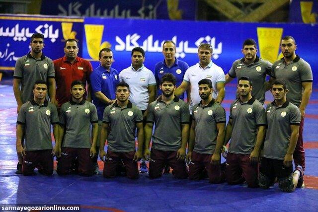 تیم ایران قهرمان کشتی آزاد جوانان قهرمانی آسیا شد