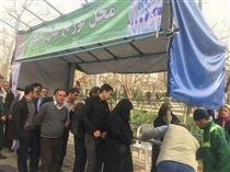 اهدای ۲۵ هزار نهال رایگان به شهروندان قلب پایتخت به مناسبت هفته درختکاری