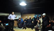 بازدید عضو شورای شهر تهران از نخستین دستگاه شبیه ساز زلزله در ایران