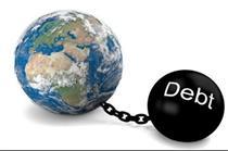 بدهی جهان به رقم باور نکردنی ۱۶۹ تریلیون دلار رسید