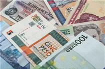 نرخ بانکی ۳۶ ارز افزایش یافت