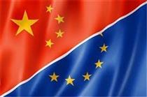 چین در سال ۲۰۲۰ اصلی ترین شریک تجاری اتحادیه اروپا بود