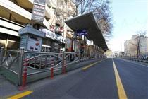 مقاوم سازی ۲۰۰ سرپناه ایستگاه اتوبوس در قلب تهران