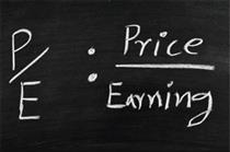 نسبت قیمت به درآمد بورس ۷.۱۷ مرتبه شد