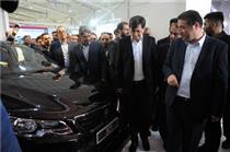 بازید وزیر صنعت،معدن و تجارت از نخستین محصول جهاد خودکفایی ایران خودرو