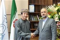 دیدار مدیر عامل شرکت حفاری شمال و کاردار اقتصادی سفارت عمان در ایران