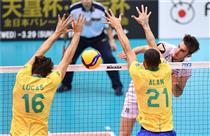شکست تیم ملی والیبال ایران مقابل برزیل/ بازنده اما سربلند