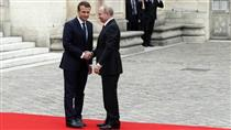 دیدار روسای جمهوری فرانسه و روسیه/ تاکیید بر تحریم بیشتر مسکو
