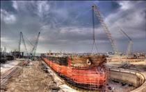 بزرگترین کشتی سازی خاورمیانه ساخته میشود