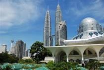برپایی پاویون جمهور اسلامی ایران در پنجمین نمایشگاه تجارت و سرمایه گذاری جهان اسلام- مالزی