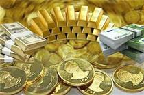 افزایش قیمت سکه و کاهش قیمت ارز در بازار آزاد